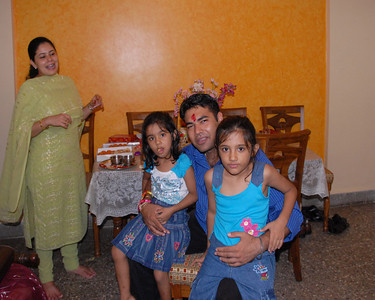 Rakhi Celebrations held at Priya & Piyush Seth's home in Romy Apartments, Marol, Mumbai on 28th Aug 2007.