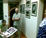 Visit of Papa, Amma, Sarika, and Shobha mami to the Grace Dieu Bungalow soon after the first phase of renovation was done. The talking and unseen voice (other than mine) at the back is Anish on Skype joining from Canada. 24082008 Parents@Bungalow