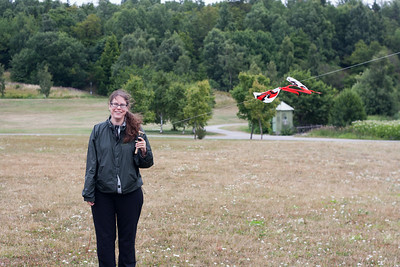 Susanne with kite