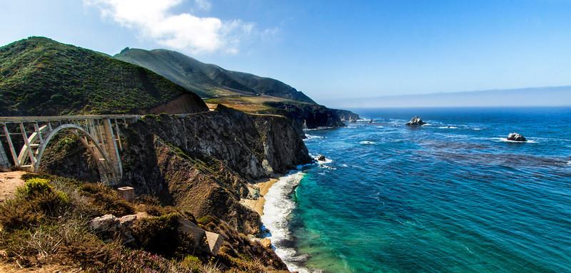 California Coast near Big Sur