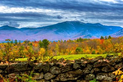 Sugar Hill, NH view of the Mt. Washington Valley