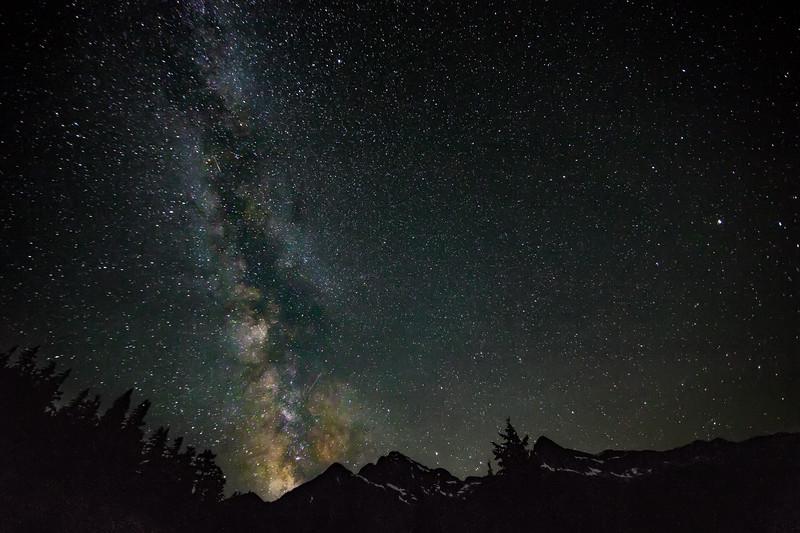 Milky Way Over Baker