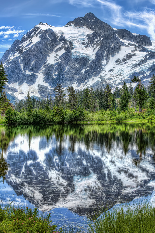 Mt Shuksan Reflection