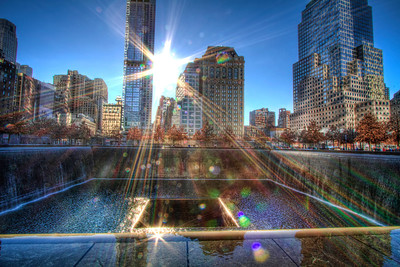World Trade Center Memorial, North Tower - New York City
