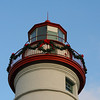 Marblehead Lighthouse, Decorated for Christmas