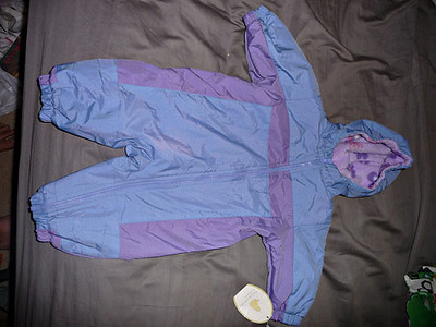 0-3 mo. snowsuit, NWT.  $5