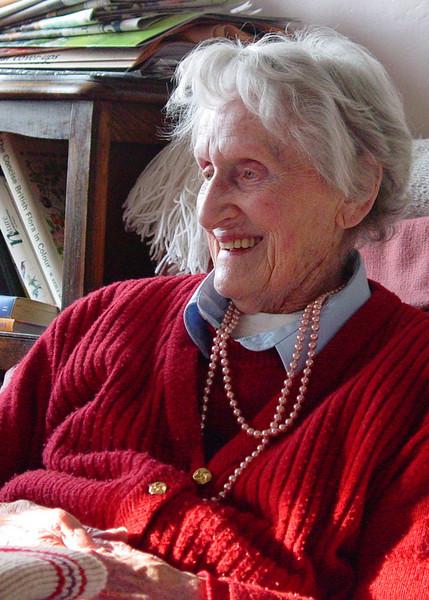 Margaret, taken by a friend