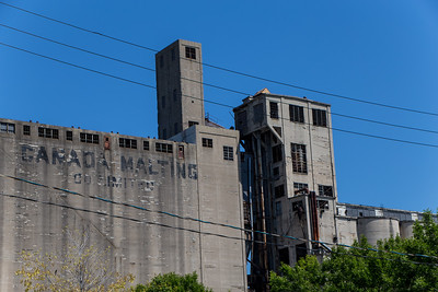 The Old Canada Malting Silos