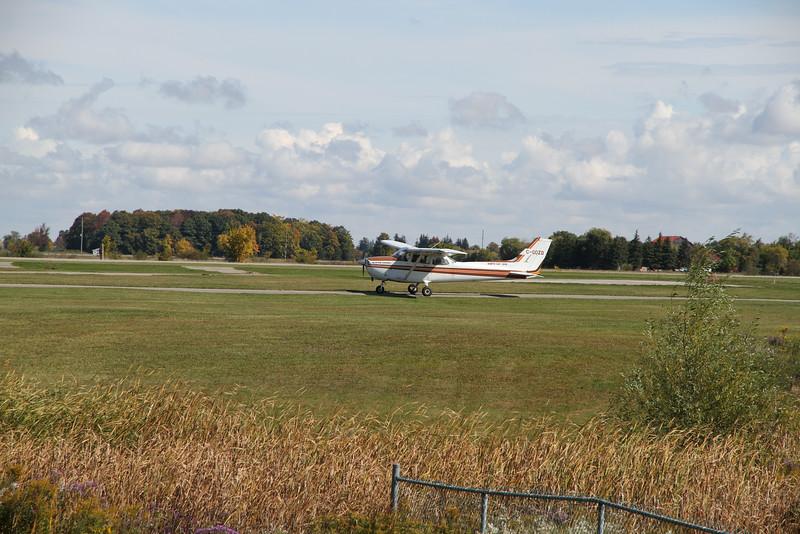 Sept. 30/12 - Landing practice