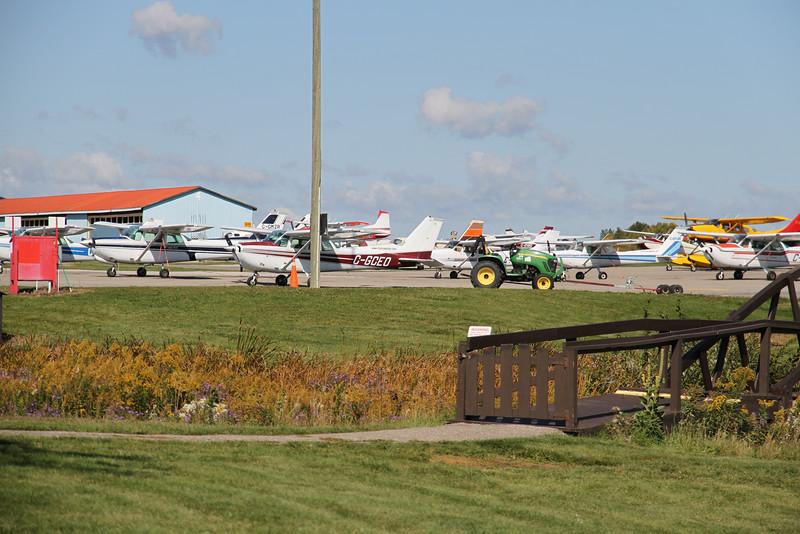 Sept. 30/12 - Planes at the Brampton Flight Centre
