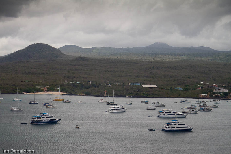 San Christobal Harbour, Galapagos Islands