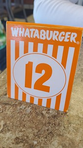Lunch in Albuquerque.   We'd never had Whataburger and since we had the opportunity we gave into the hype.  Meh.   Now I've had one.