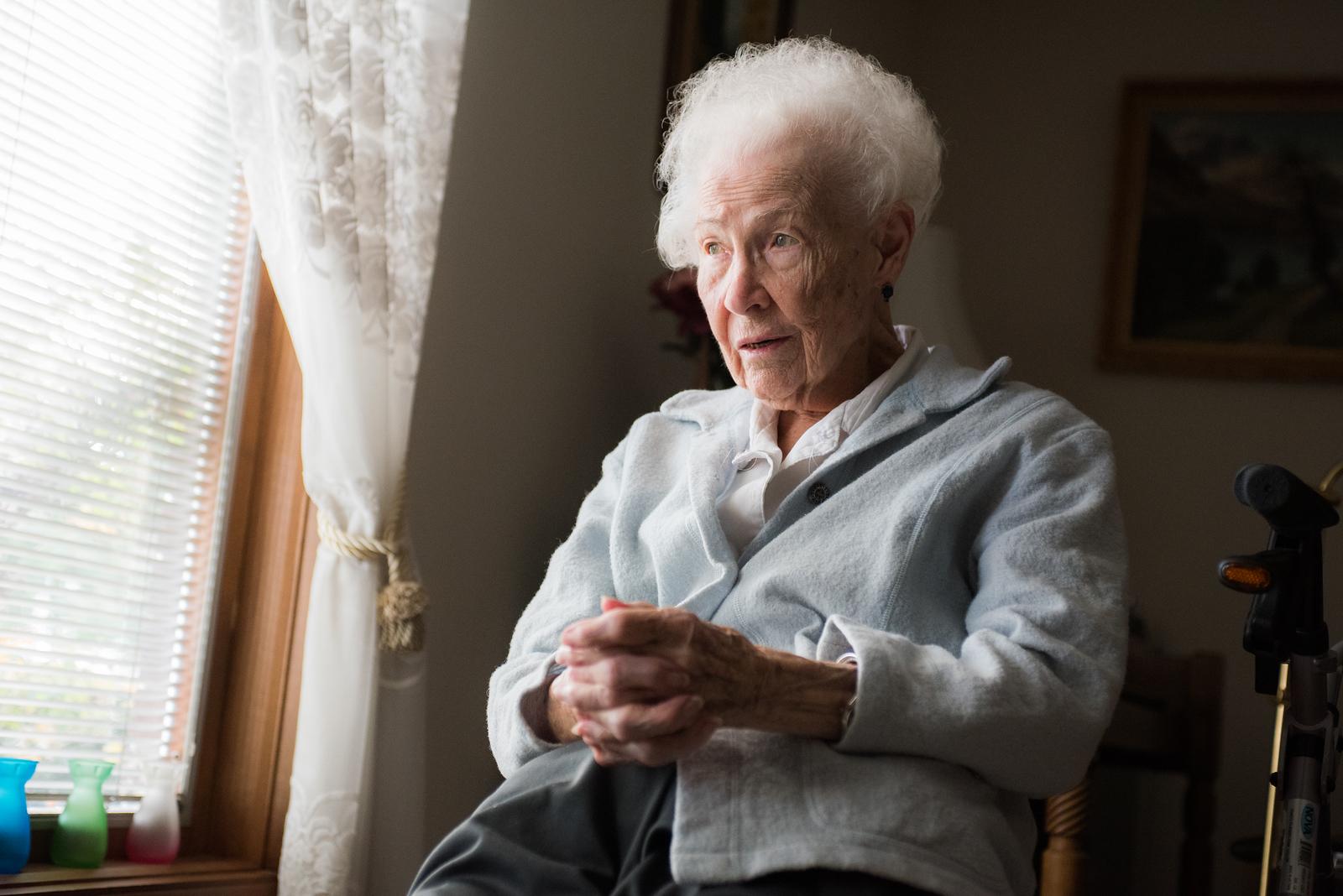 2017.11.11 - Grandma Lotus Mae Hilton Webb at 101 years old