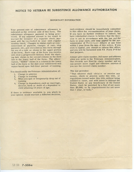 GriffinFamily_WWII_veteran_subsistance_allowance_CarlLewisGriffin-001