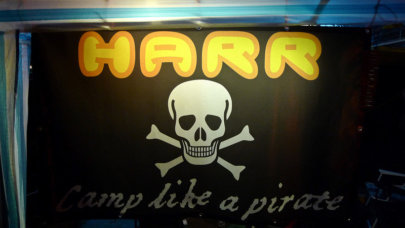 Harr like a pirate