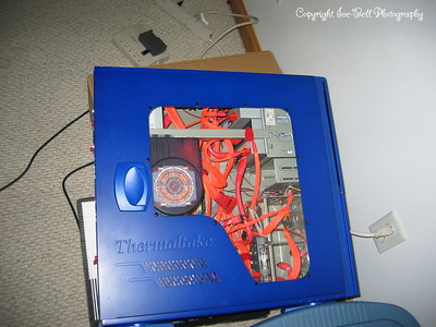 10/28/2005  My PC is torn apart and stll a mess, but this gives a good look at it for now.