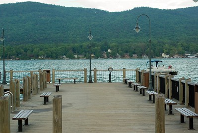 Closer shot of the dock.