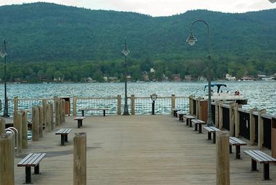 Closer shot of the dock.