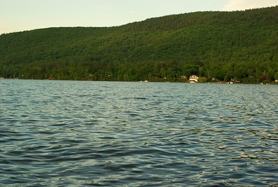 This is a shot of the wonderful water on Lake George.
