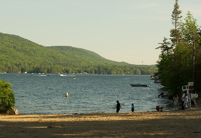 This is a photo of Lake George.