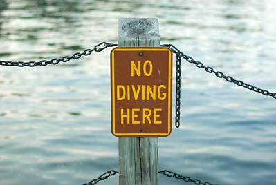 Don't break your neck diving in.