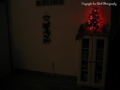 December 25, 2005  Dining room decorations