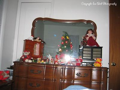 December 25, 2005  My bedroom dresser.