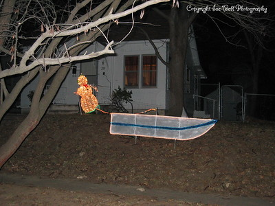 12/18/2006  Phase two: Lighting of the water ski.