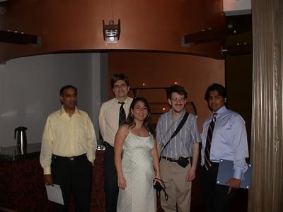 This photo was taken by Doris Schultz           In the photo (From left to right): Srinivasa Nallamotu, Roy Uwe Rojas Wahl, Ellie Mahjubi, Brendan McDonald and Nabeel Shamim