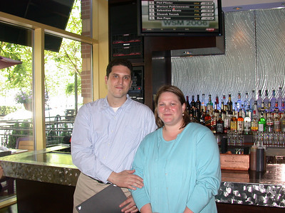 This photo was taken by Doris Schultz           In the photo (From left to right): Thomas D'Eletto and his wife Gina