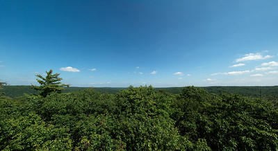 This was shot at the top of the Fire Tower in Cooks PA
