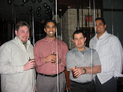 Brian, Hemant, Bob and Sudhir.