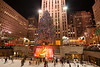 It looks like the Rockefeller Center Christmas tree will be a considerably smaller energy hog this holiday season than it has been in years past, as New York City Mayor Michael Bloomberg announced on November 21st that the tree will be lit up with LED lights for the first time - 30,000 of 'em, to be specific. That'll apparently reduce the tree's energy consumption from 3,510 kilowatt hours per day to just 1,297 -- a savings that, as the AP points out, is roughly equivalent to the amount of electricity consumed by a typical 2,000-square-foot house in a month. While it's not clear if it'll be used for the tree or not, the owners of Rockefeller Center also took the opportunity to show off a new 365-panel solar array on the roof of one of the complex's buildings, which is apparently big enough to lay claim to the title of the largest privately owned solar roof in Manhattan.