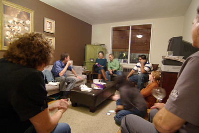 A fun game of Taboo.  My team won.
