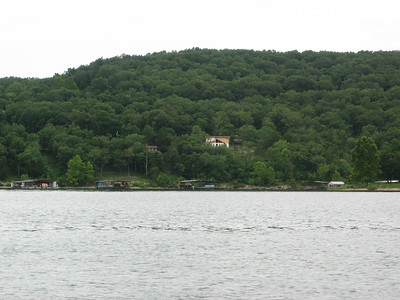 7/18/03  House from the lake.