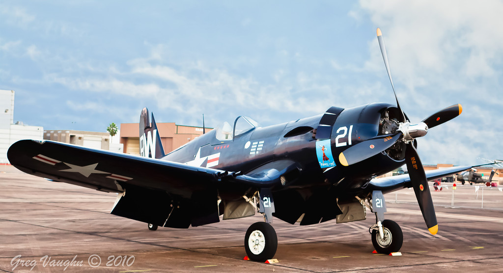 Corsair at Wings Over Houston 2010 at Ellington Field in Houston, Texas