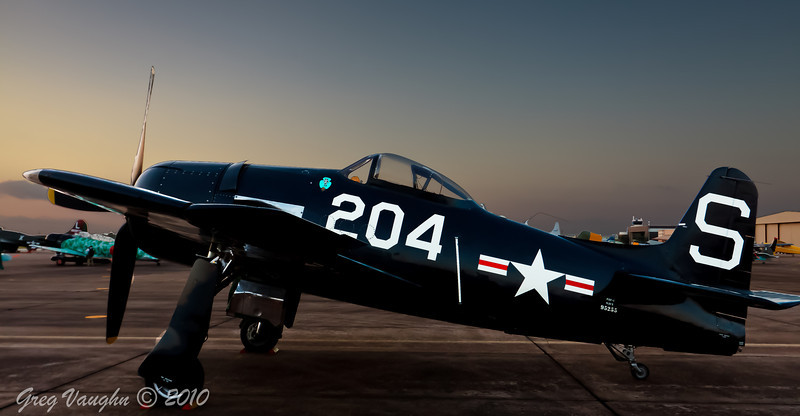 Grumman F8F Bearcat at Wings Over Houston 2010 at Ellington Field in Houston, Texas