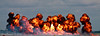 Fire Display during Tora! Tora! Tora! at Wings Over Houston 2010 at Ellington Field in Houston, Texas