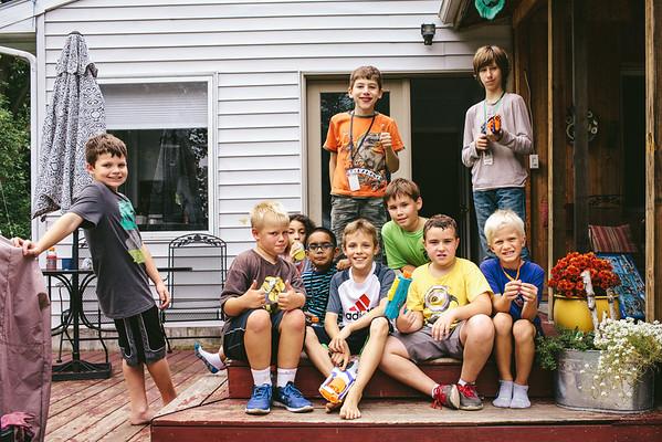 Kieran's 9th Birthday Party