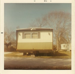 Big Trailer Front View - Feb 1971