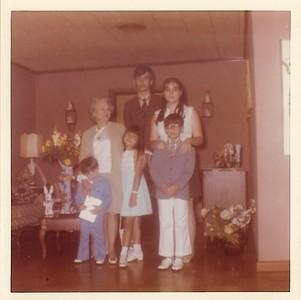 Easter - Momee Joe, Willie, Gaye, Theo, Jody and Chad