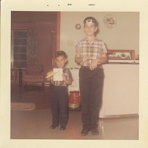 Will and Theo - Oct 1966