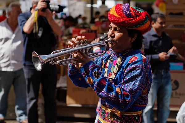 Trumpet player - Leicester Mela 2011