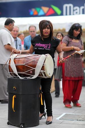 Female Dholi - Leicester Mela