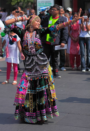 Leicester Mela Dancer