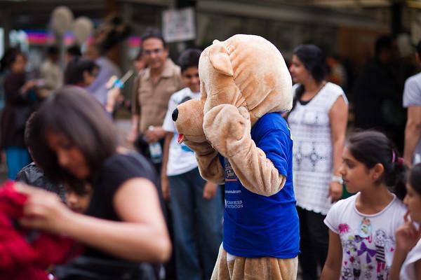 Leicester Mela 2011 - Bear