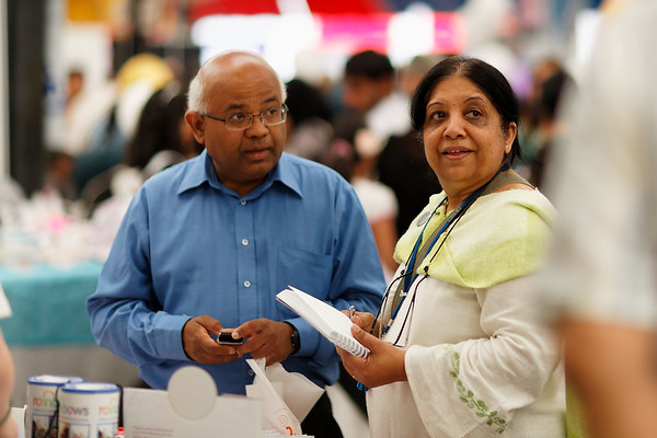 Ranju - wife of my friend Harshad - Leicester Mela 2011