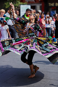 Lost in dance - Leicester Mela 2011