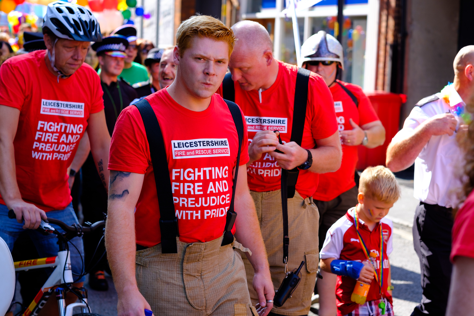Fighting Fire and Prejudice with Pride