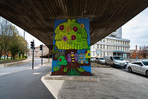 Leicester Street Art